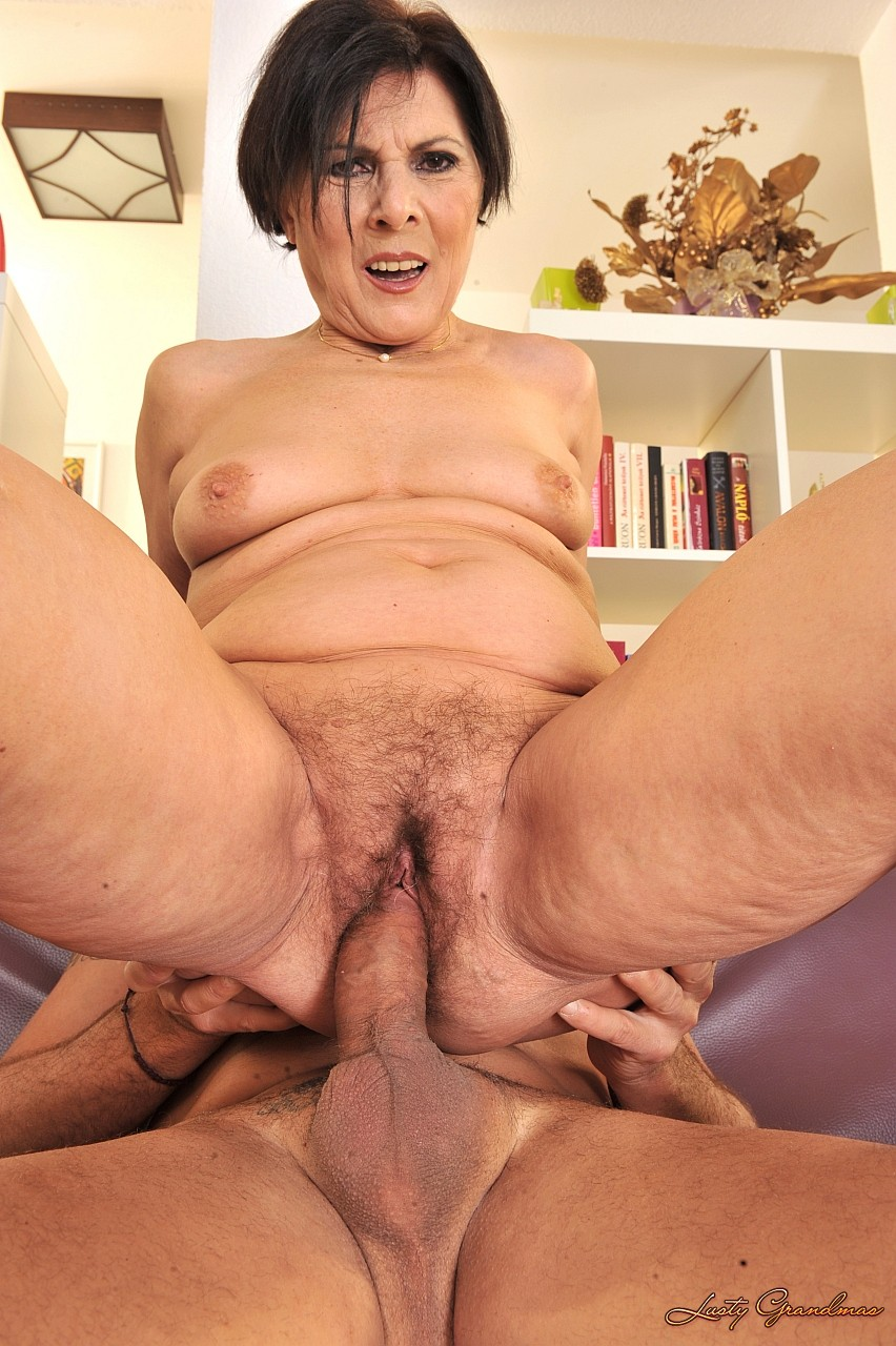 lusty grandmas interracial