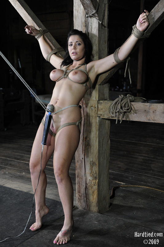 Drilled fit mistress spank