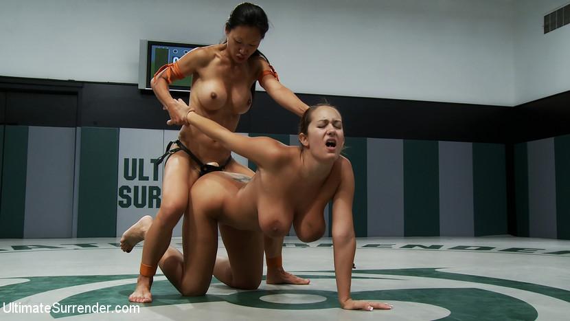голые девушки в ринге