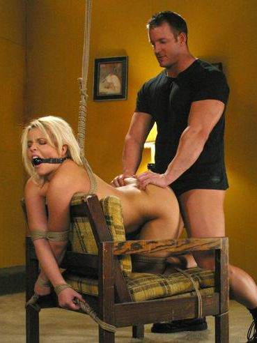 Small titted slave blonde Emma Heart with bald puffy pussy gets her tight ass dicked