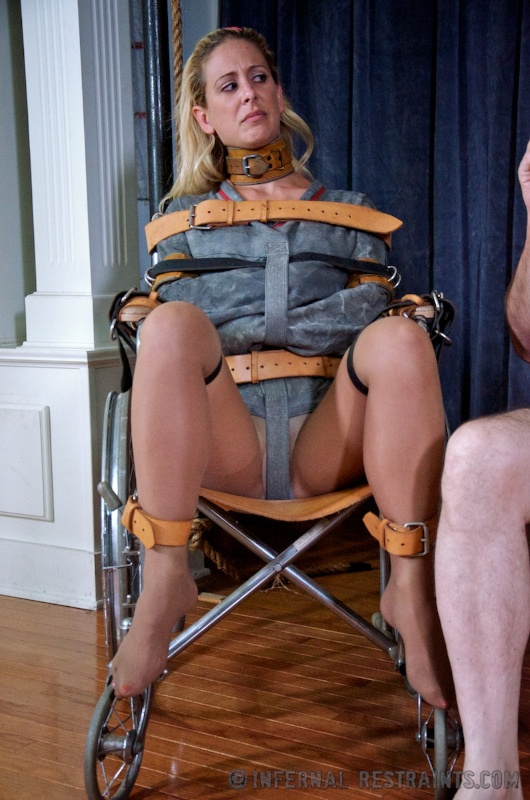 Something is. nude girls body restraints