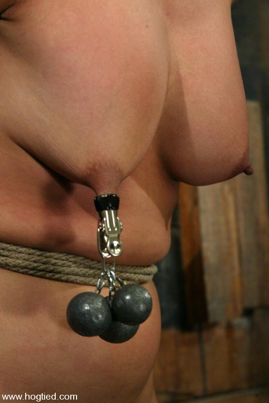 asian slave mika tan gets her body tied her mouth ball gagged and her