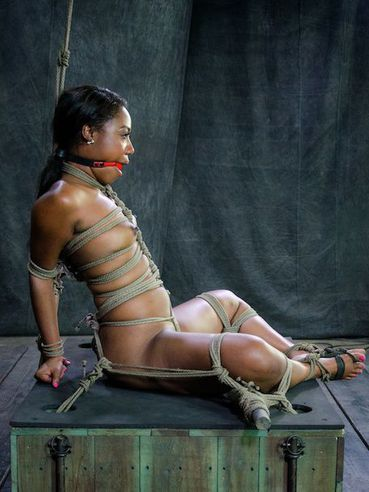 Glorious hottie Chanell Heart is put in bondage and worked by her fetish mistress