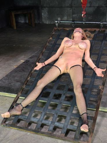 Rain DeGrey has her face washed owed with sweet pain and excitement after getting in BDSM.