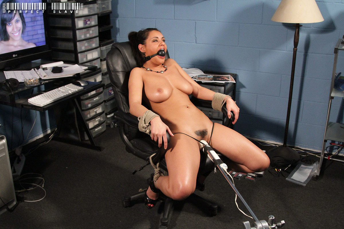 Chair tied vibrator