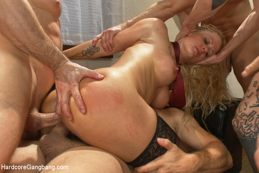 image Anal slut brutal gang bang sometimes it