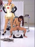 Nina Hartley BDSM Fetish Pissing Uniform