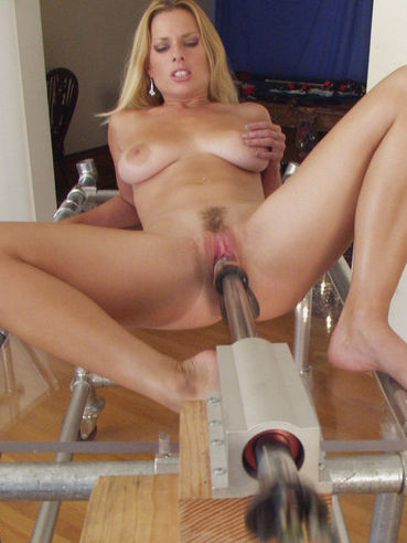 Completely nude long legged blonde Goldie Star gets her pink cunt used by the Intruder.