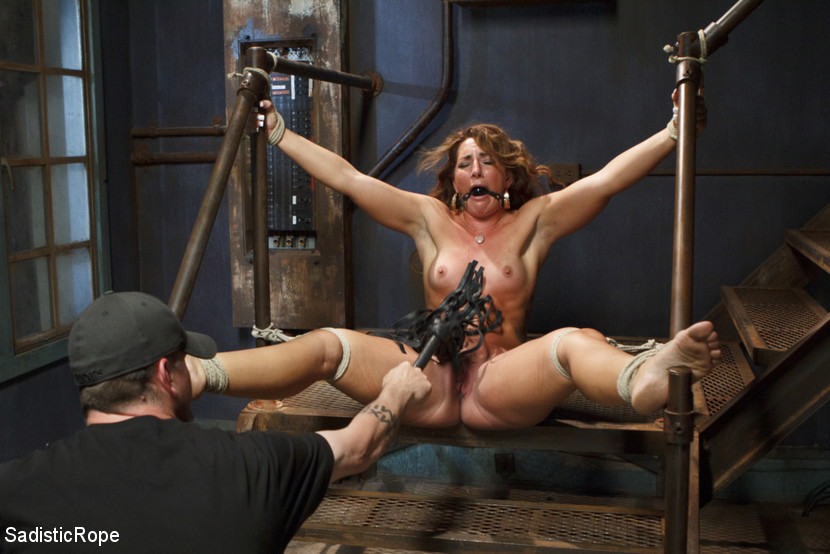 Savannah fox bondage