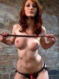 Kendra James having pleasurable sex with her obedient slaves Kade and Devaun Long