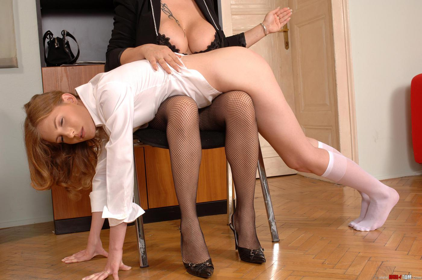 Your strict lesbian spanking sounds