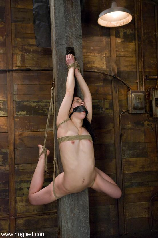 oriental slave girl amie gets her tits tortured and her