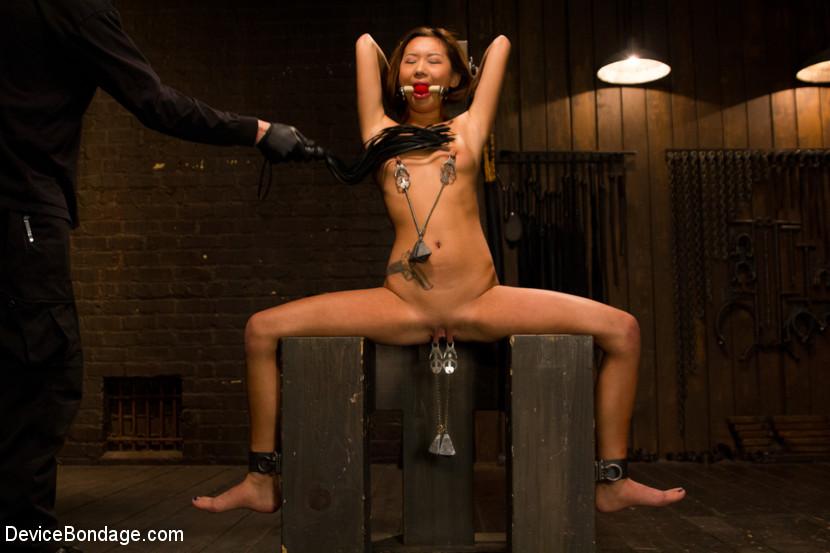 Woman weight trampling femdom
