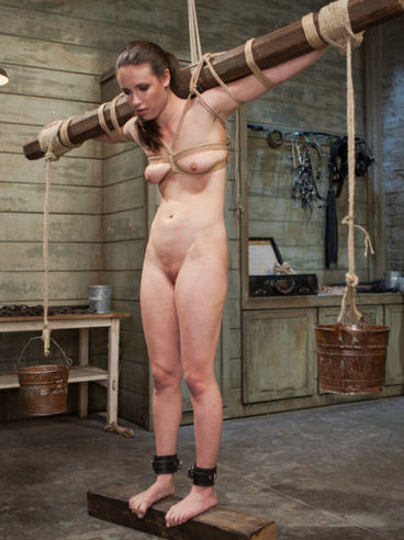 Good looking Casey Calvert is into BDSM action and that means she loves pain and pleasure...