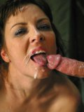 Attractive round titted slave brunette Maria Bellucci gets her tight ass banged