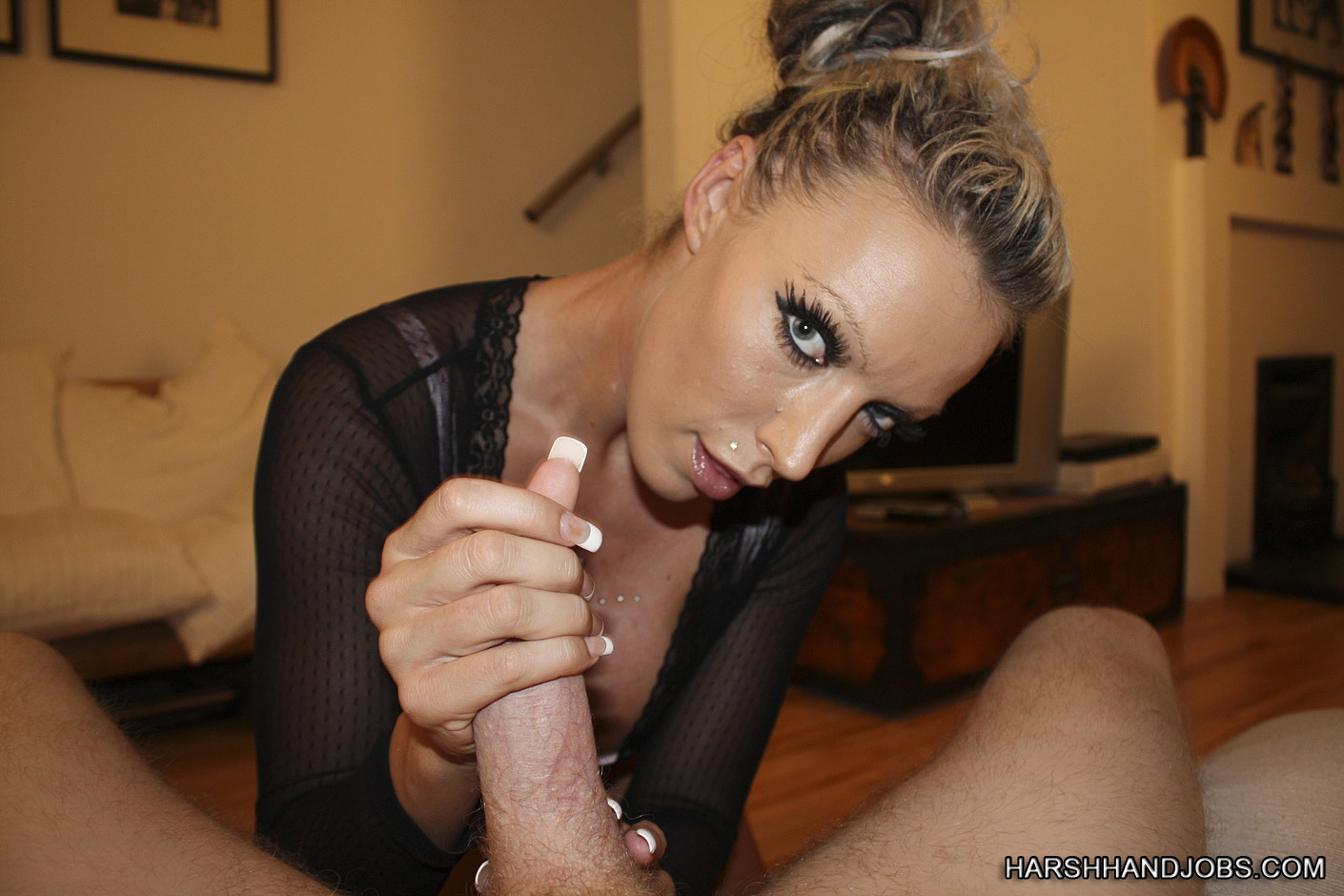 Clip daily free hand job video