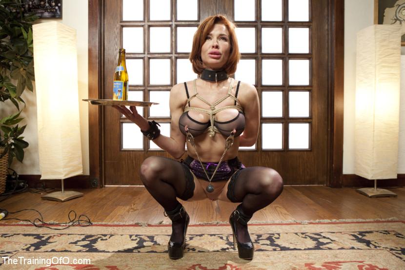 Sexy waitress in bondage wearing socks opinion you