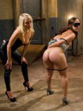Blonde Lorelei Lee takes Remy LaCroix into her BDSM hands and makes her moan like a cheap whore.