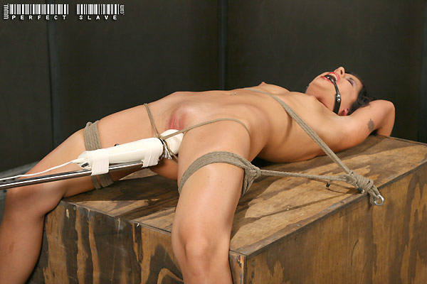 naked slave girl marina mae gets tied with white magic