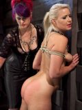 Anikka Albrite and Soma Snakeoil are into bondage and spanking that tight butt.