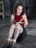 Bonnie Day gets her slim body punished and bruised in hardcore metal bondage.