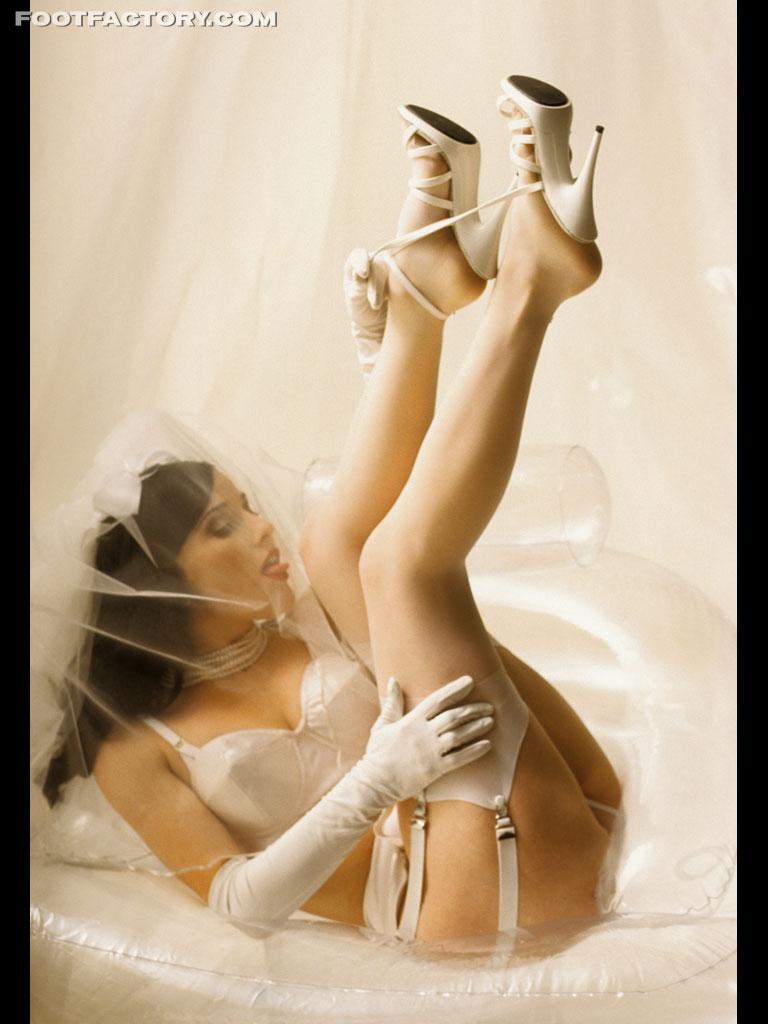 Bride in white lingerie banged - 2 part 6