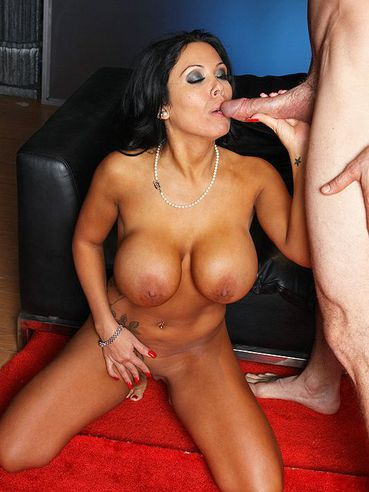 Busty brunette milf Sienna West with tattooed back gets her ass attacked by big cock