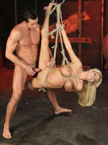 This is the cruel fuck session that poor girl Nikita Von James is taking from her master.