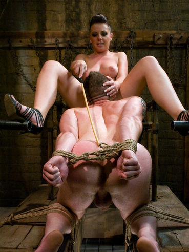 Wolf Hudson gets punished by Penny Flame and then pleases her pussy with tongue and cock