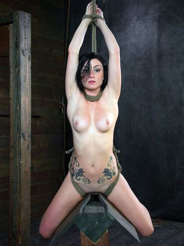Veruca James is put in bondage and gets her fine natural tits tortured real good