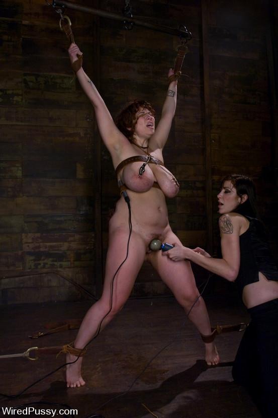 Big tit lesbian dominatrix