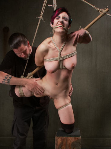 BDSM sweetie Iona Grace is getting toyed and violated by her new bizarre master