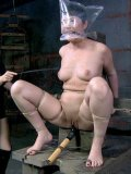 Sister Dee makes her asian slave girl Nyssa Nevers cry as she punishes her holes with toys