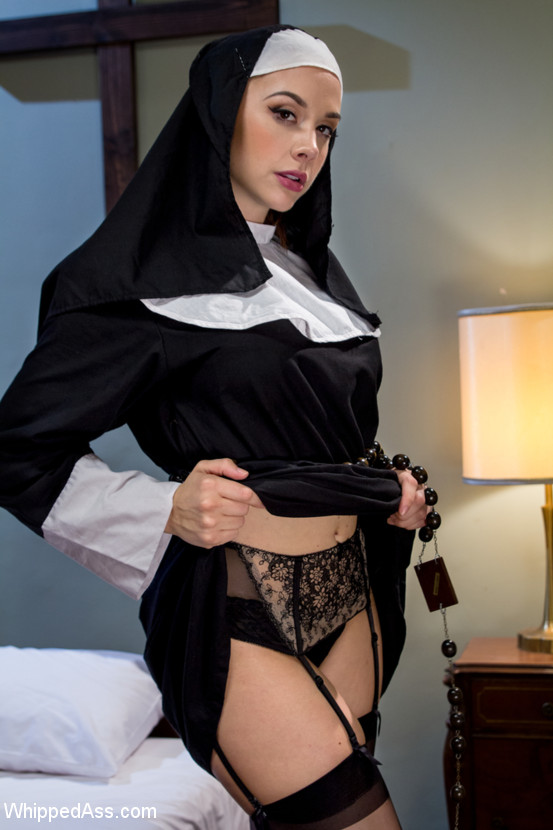 sexy nun uniform porn