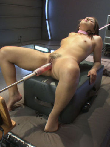 Liv Aguilera has her experienced fetish body dildoed and drilled with a fuck machine in many poses.
