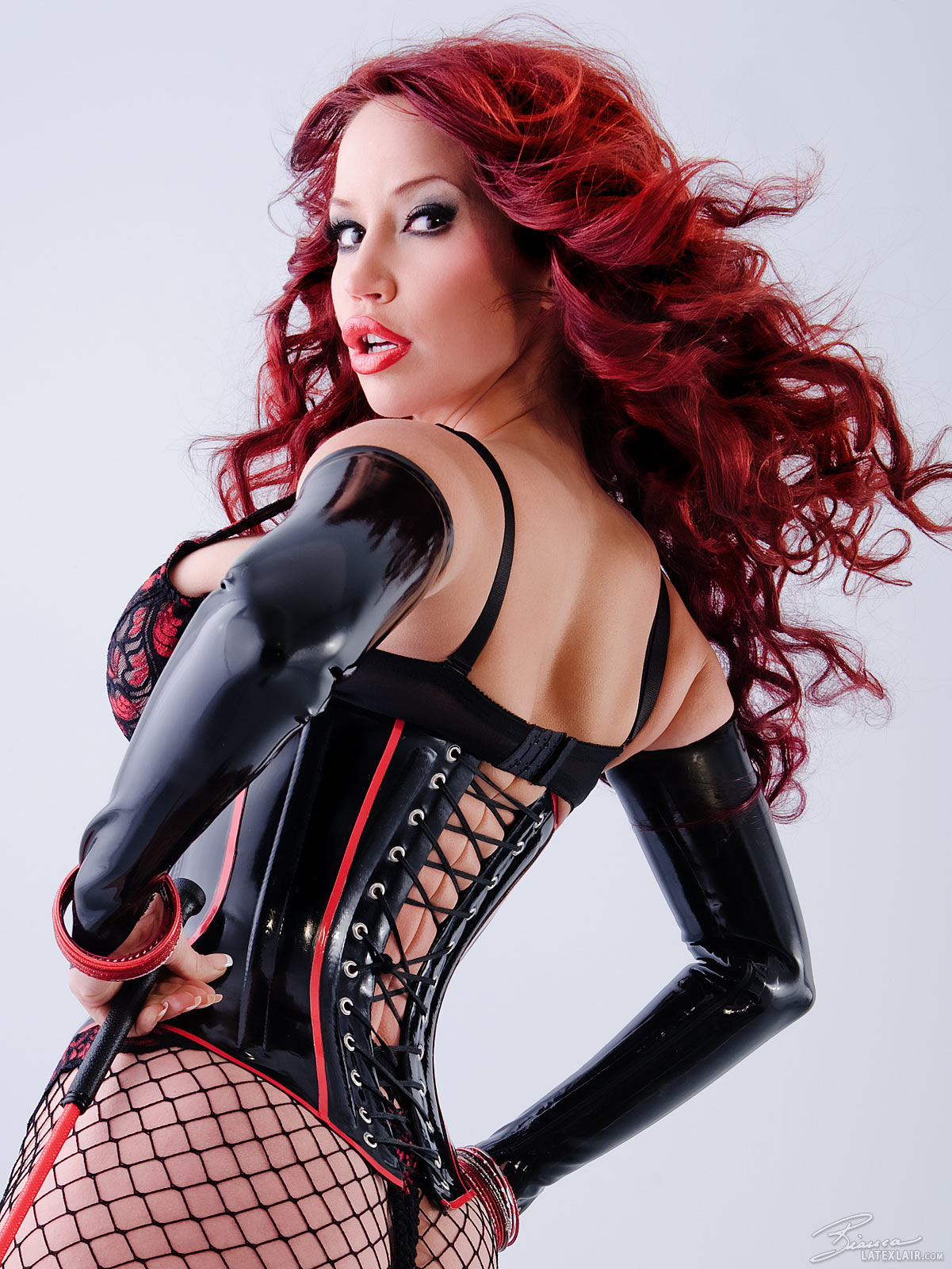 corset latex Bianca beauchamp