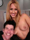 Frisky mistress Isis Love spanks her slave Johnny Law making him obey al her orders