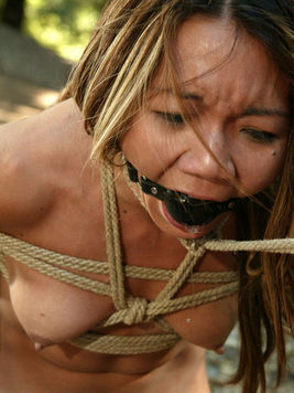 Keeani Lei and Melissa Lauren get punished in the barn and outdoors by cruel Princess Donna
