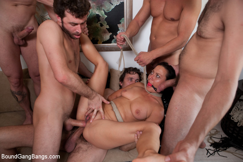 Ava Devine Rough Gangbang