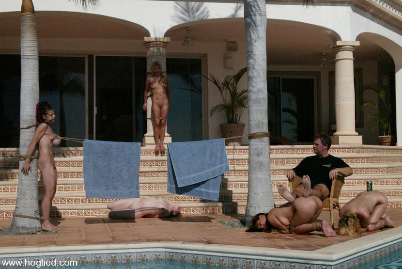 Bondage in cabo by wife - 2 4