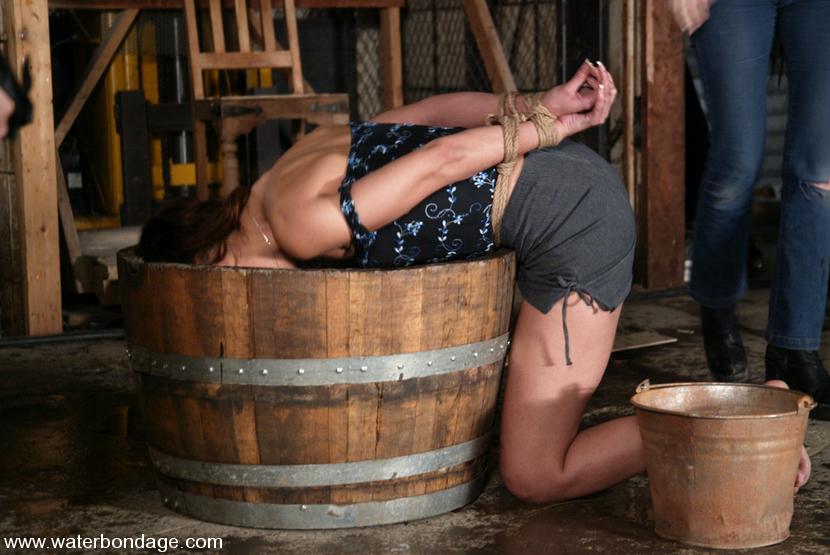 Latina water bondage please