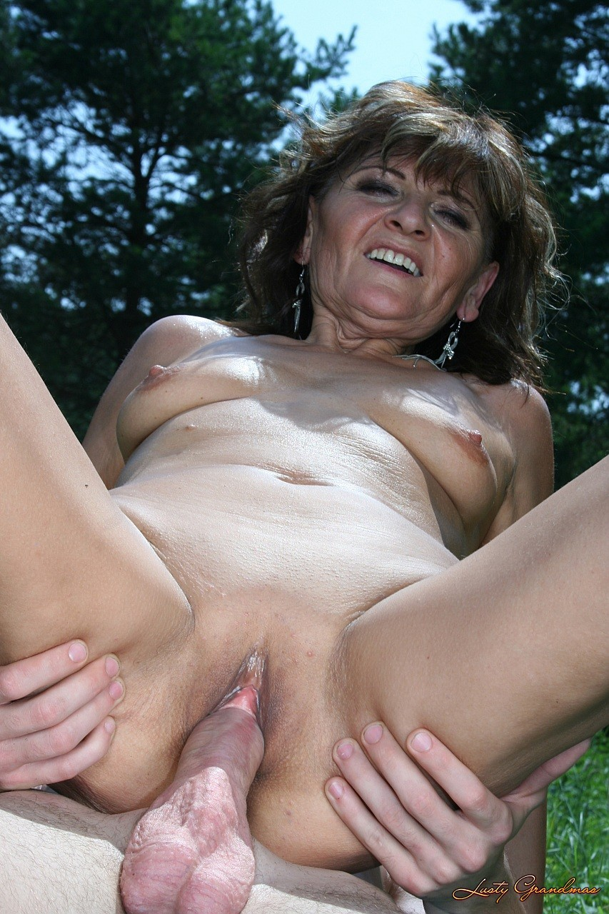 Something hot thin grandmas fucking