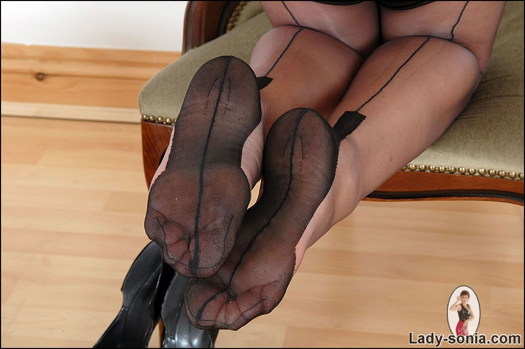 Lady sonia pantyhose video