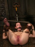 Slave Dana DeArmond gets her pussy tortured after she leaves the water tank