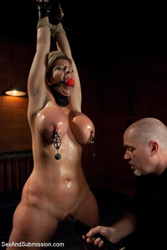 Recommend you Sara jay breast bondage