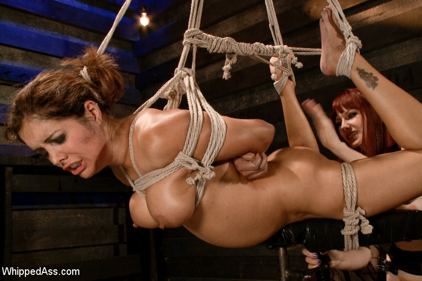 Chastity lynn bound gangbang 2012 part1