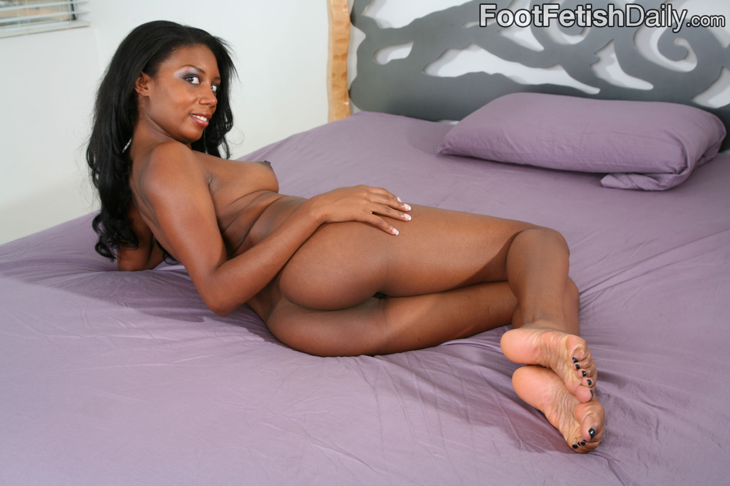 Black girls foot fetish