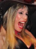 Femdom Susan Block drinks alcohol and fulfills her fantasies at bdsm party