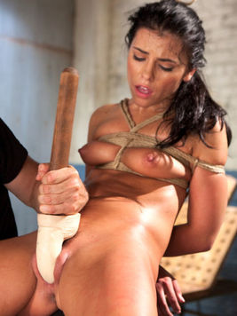 Sex toys and insertions are making delicious Adriana Chechik super horny.