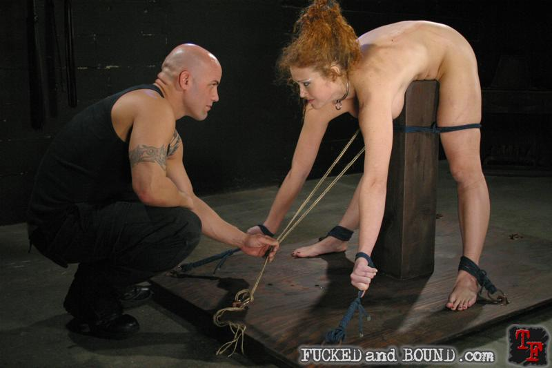 Bdsm sensual makeout curly